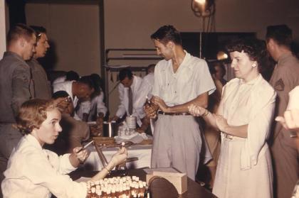 flu shot 1957