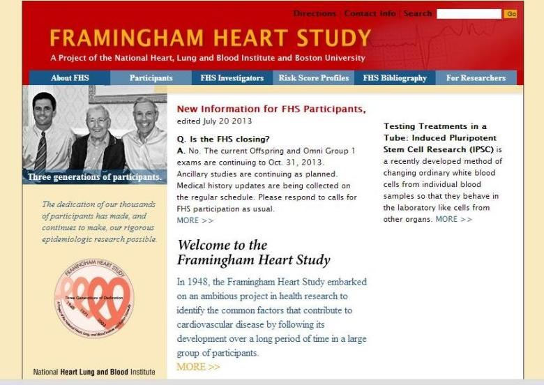 Don\'t have a hot attack: Framingham Heart Study carries on | Boston ...