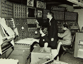 1950s era analog computer