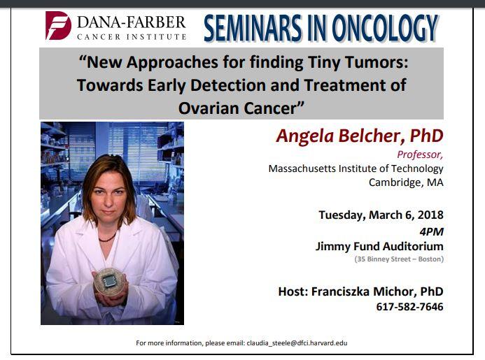 Talk Toward Early Detection And Treatment Of Ovarian Cancer Boston Health News